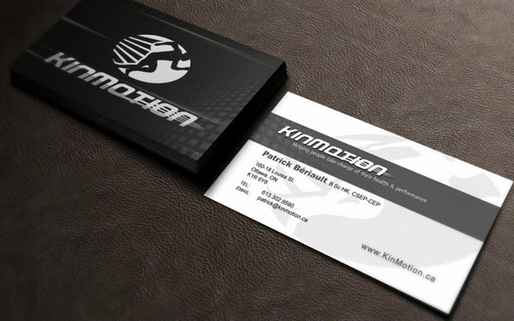 Kinmotion Business Cards