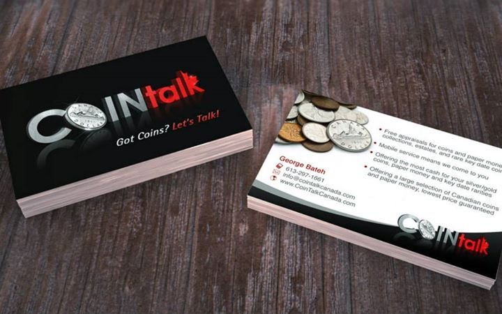 CoinTalk Logo Design