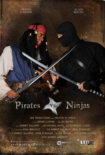 Pirates vs Ninjas – LIVE TOMORROW