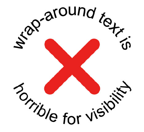 Truth about Wrap Around Text