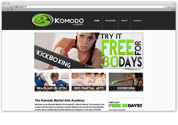 komodo-academy-website