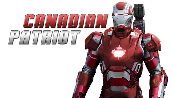 Canadian Patriot – Photoshop Tutorial