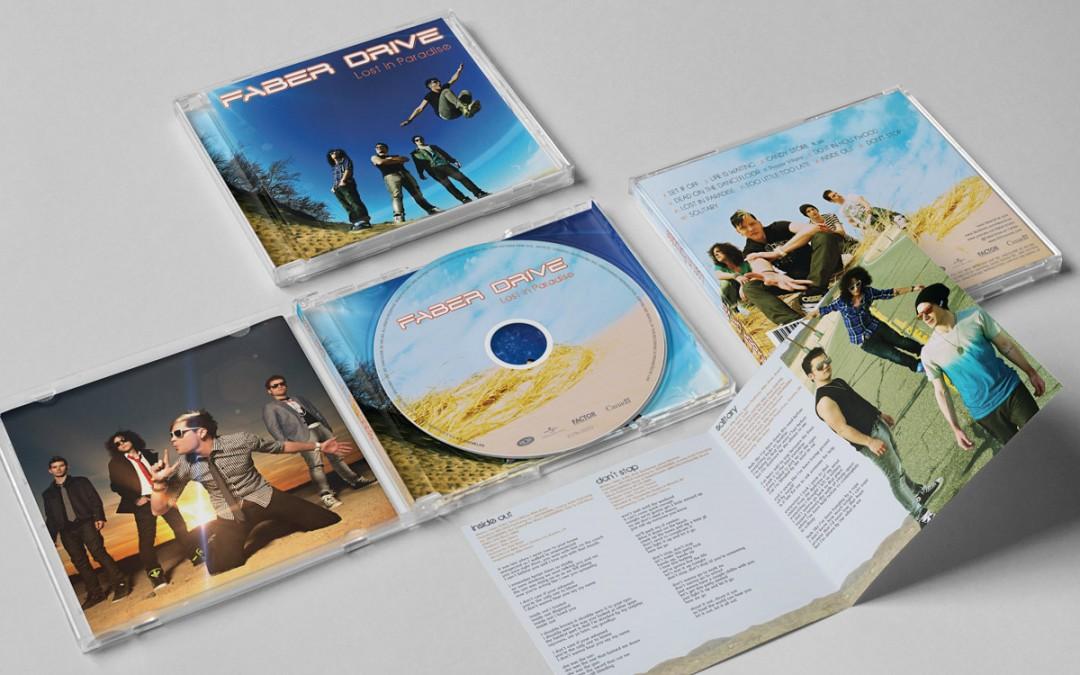 Faber Drive Album Design