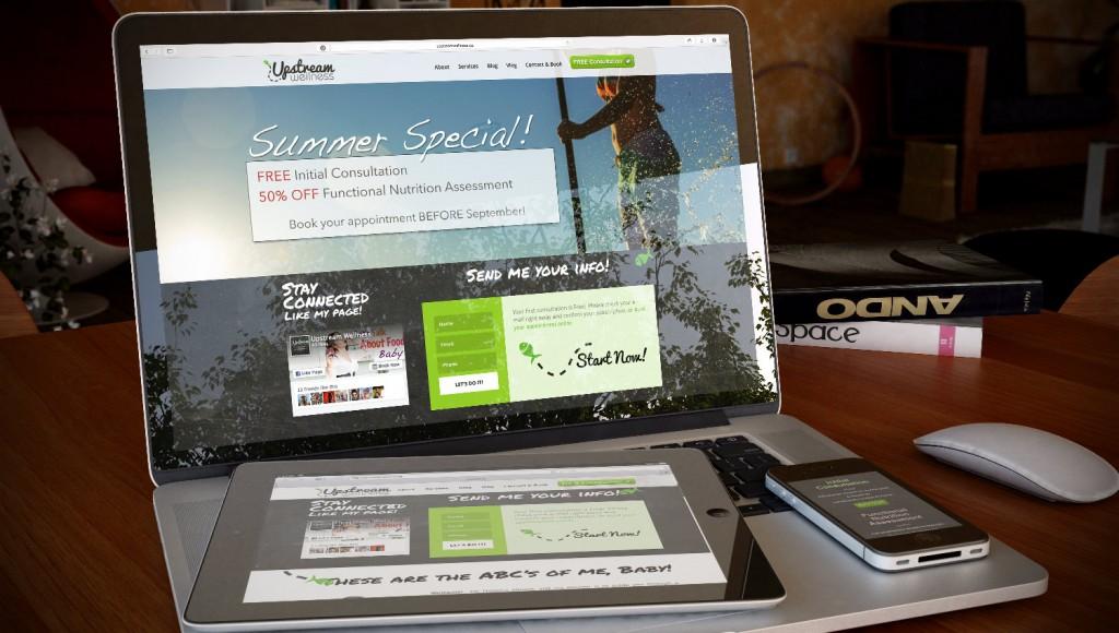 upstreamwellness-web-design